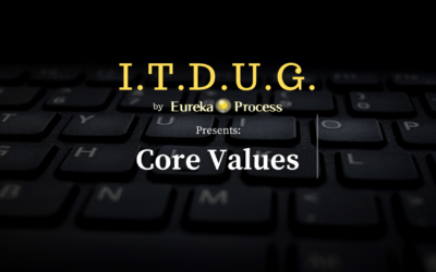 ITDUG 2020.09 – Core Values : The Ultimate Process