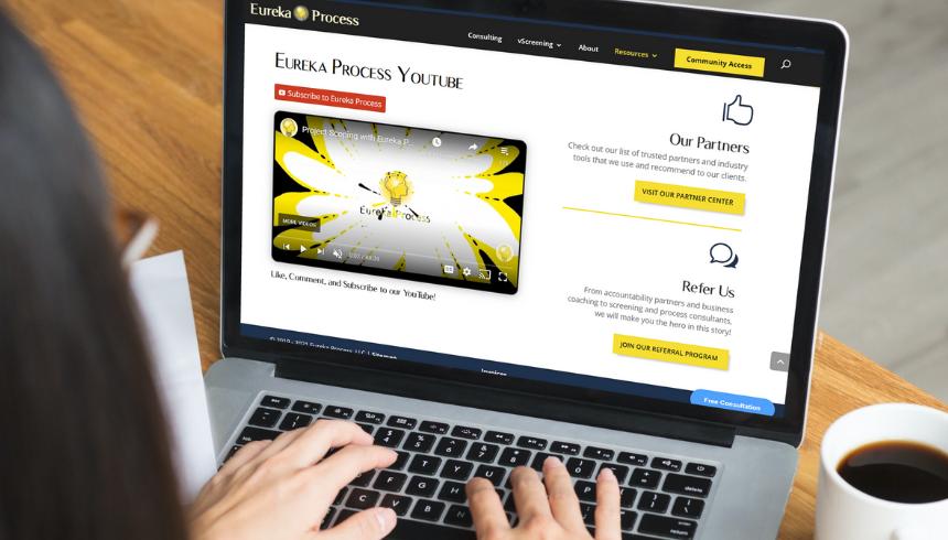 Reosurces page eureka process partners referrals cmoputer