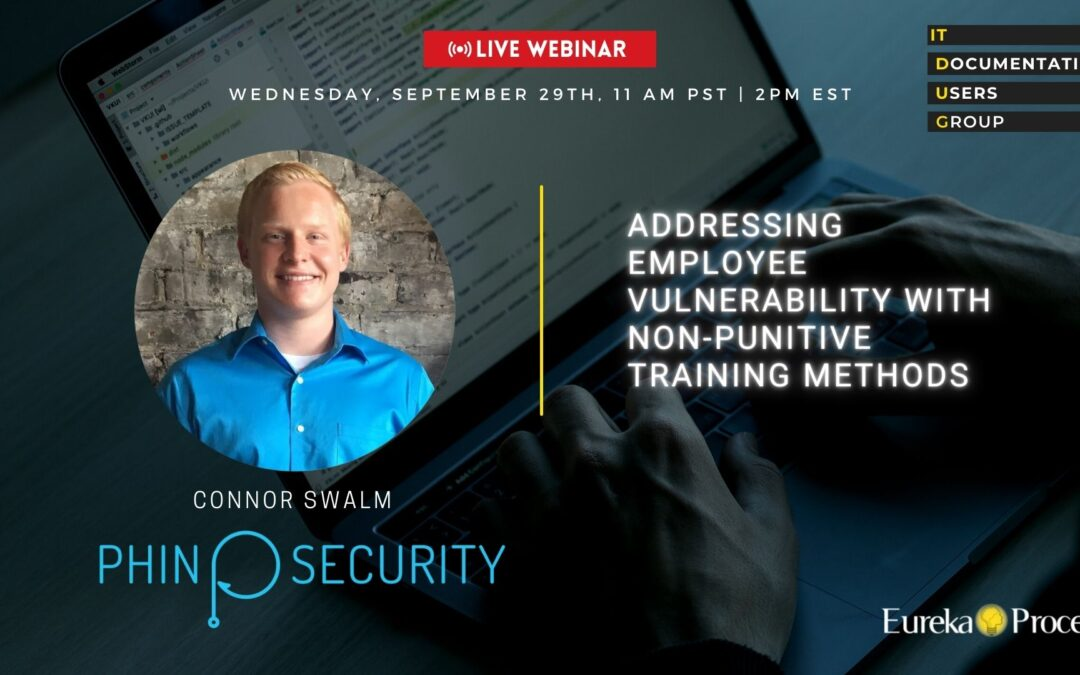 ITDUG 2021.09 Employee Vulnerabilities with Connor Swalm